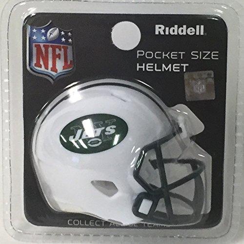 - NY New York Jets Riddell Speed Pocket Pro Football Helmet - New in package