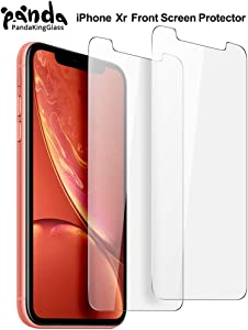 PandaKingGlass Screen Protector for Apple iPhone 11,iPhone XR(6.1 inch) iPhone Xr Tempered Glass Screen Protector Advanced Clarity [3D Touch] Work with Most Case (Clear, 2 Packs)
