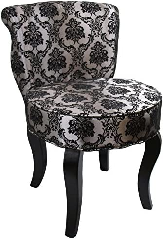 Ore International French Damask Accent Chair