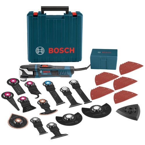 Bosch GOP55-36C2-RT 5.5 Amp StarlockMax Oscillating Multi-Tool Kit with 40-Piece Accessory Kit (Certified Refurbished) by Bosch