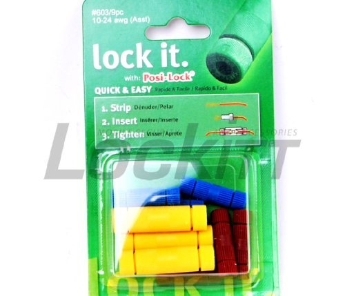 Posi-Lock® wire connectors Assortment pack 10-24 awg