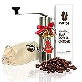 Best Hand Coffee Grinders - Cartos Manual Coffee Grinder - Portable Hand Grinder Review