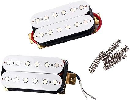 FLAMEER 2 piezas guitarra Humbucker Pickup, bajo ruido y cálido ...