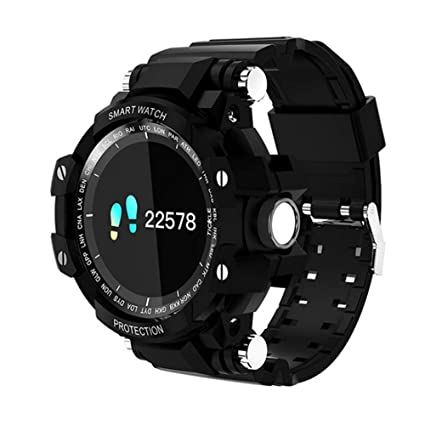 Amazon.com: HUIGE Smartwatch,0.95 inch OLED Display, Android ...