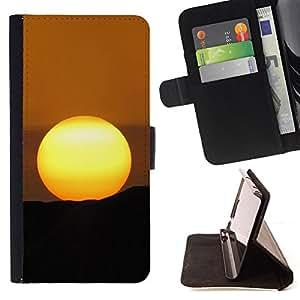 BullDog Case - FOR/Samsung Galaxy S3 Mini I8190Samsung Galaxy S3 Mini I8190 / - / Desert Sunset /- Monedero de cuero de la PU Llevar cubierta de la caja con el ID Credit Card Slots Flip funda de cuer