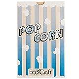 Bagcraft Papercon 300612 5 1/2'' x 3 1/4'' x 8 5/8'' 85 oz. EcoCraft Popcorn Bag - 500/Case