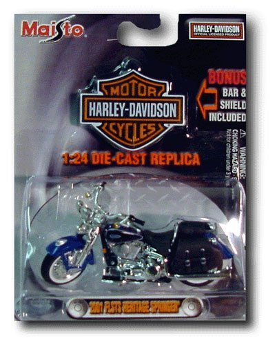 Harley-Davidson 1:24 2001 FXSTS Springer Softail