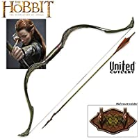 United Cutlery UC3031 The Hobbit Elven Bow and Arrow of Tauriel by United Cutlery