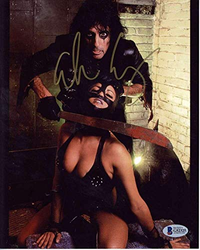 (Alice Cooper Signed Autographed 8x10 Photograph Beckett BAS - Beckett Authentication)