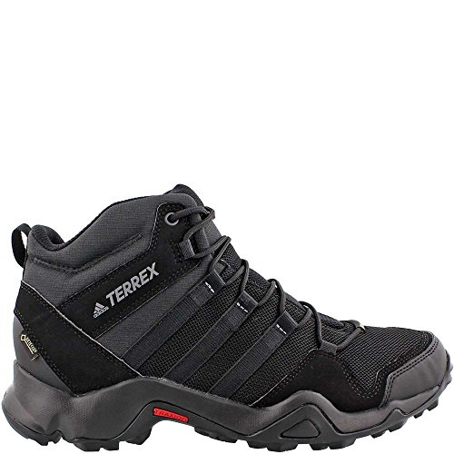 adidas outdoor Terrex AX2R Mid GTX Hiking Boot - Men's Black/Black/Vista Grey, 11.0
