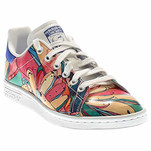 adidas stan smith Blanc multicolor baskets s32036 s32036 s32036 chaussures femmes a41108