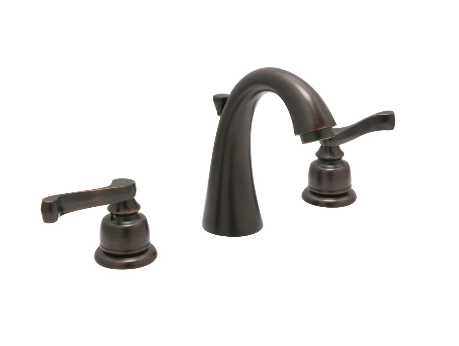 Huntington Brass W4520703-1 Sienna Wide Spread Faucet, 8'', Antique Bronze Finish by Huntington Brass