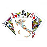 Map Italy National Flag Custom Landscape Poker Playing Cards Tabletop Game Gift