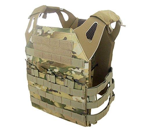 (DLP Tactical Phantom Low Profile MOLLE Vest (Multicam))