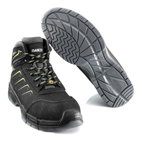 Mascotte F0109–937–09–835, scarpa di sicurezza S3Bimberi Peak, misura W8/2.5, nero
