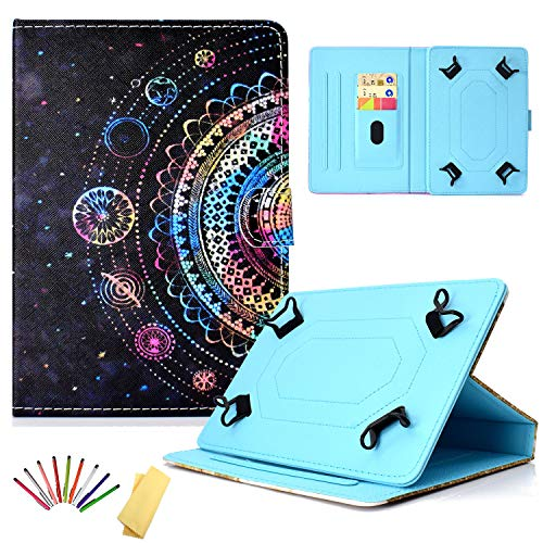 Uliking Universal Case for 9.5-10.5 inch Android iOS Tablet, PU Leather Stand Cover for 9.6