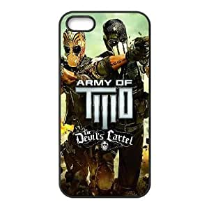 Army of Two iPhone 4 4s Cell Phone Case Black phone component RT_252971