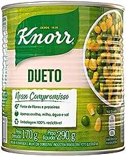 Ervilha e Milho Verde em Conserva Dueto Knorr Lata Peso Líquido 290g Peso Drenado 170g