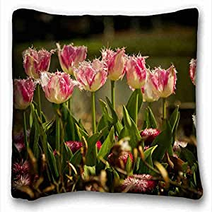 Custom Cotton & Polyester Soft Nature Custom Cotton & Polyester Soft Rectangle Pillow Case Cover 16x16 inches (One Side) suitable for Full-bed