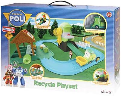 ROBOCAR POLI riciclare Playset Rocco Giocattoli Rocco Toys 83155