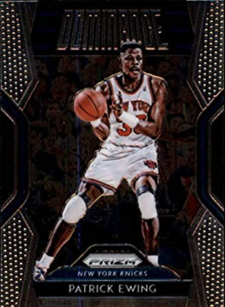designer fashion b3b29 0824f Amazon.com: Patrick Ewing 2018-19 Panini Prizm Dominance #28 ...