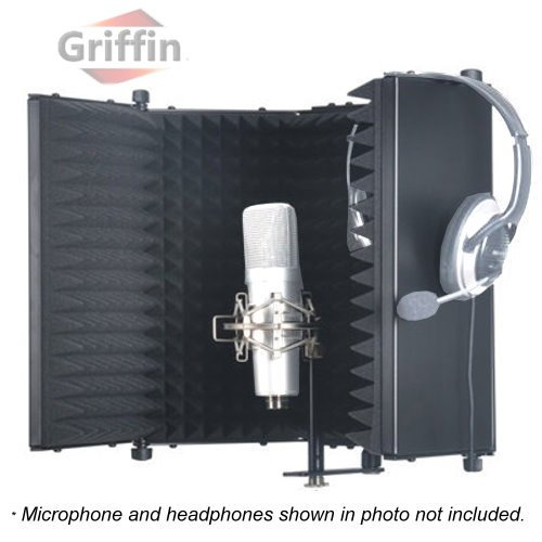 studio-microphone-diffuser-isolation-sound-absorber-foam-panel-shield-stand-mic-griffin