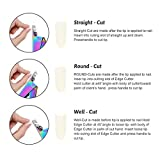 Acrylic Nail Tips Clipper UV False Nails Cutter