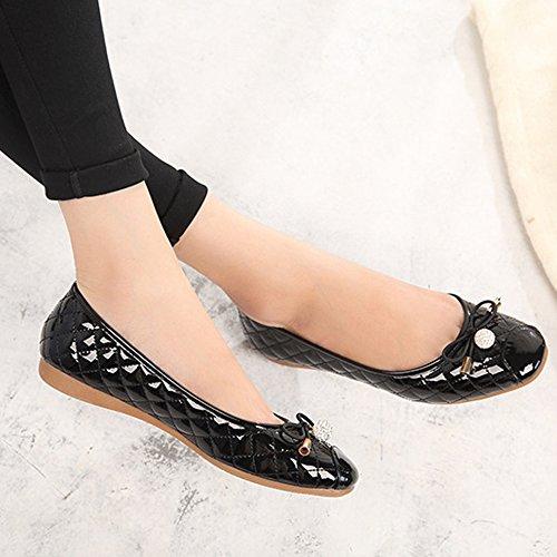 Plats Femme Marche Confortable OCHENTA Ballerines Et Chaussures Printemps REWaxpx