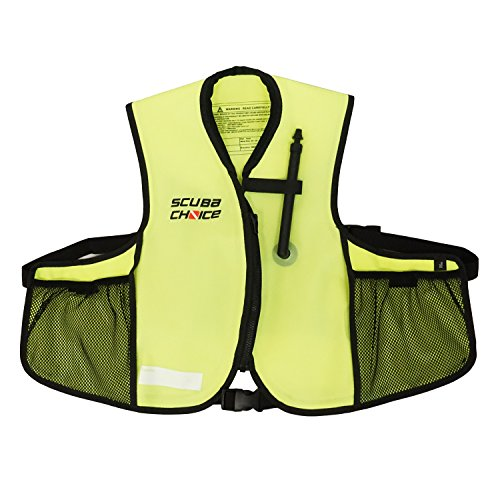 Scuba Choice Youth Snorkeling Oral Inflatable Snorkel Jacket Vest ()