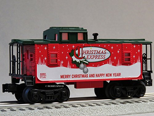 LIONEL ILLUMINATED CHRISTMAS EXPRESS CABOOSE O (Express Caboose)