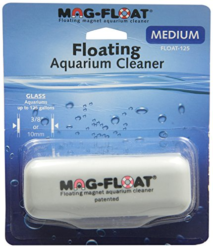(Gulfstream Tropical AGU125MED Mag-Float Glass Aquarium Cleaner, Medium)