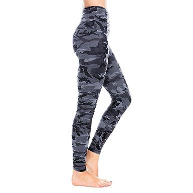Mallas Mujer, PANPANY Pantalón de Yoga de Cintura Alta de ...