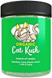 #6: Organic Catnip by Cat Kush, Safe Premium Blend Perfect for Cats, Instilled with Maximized Potency your Kitty is Guaranteed to Go Crazy for! (1 Cup)
