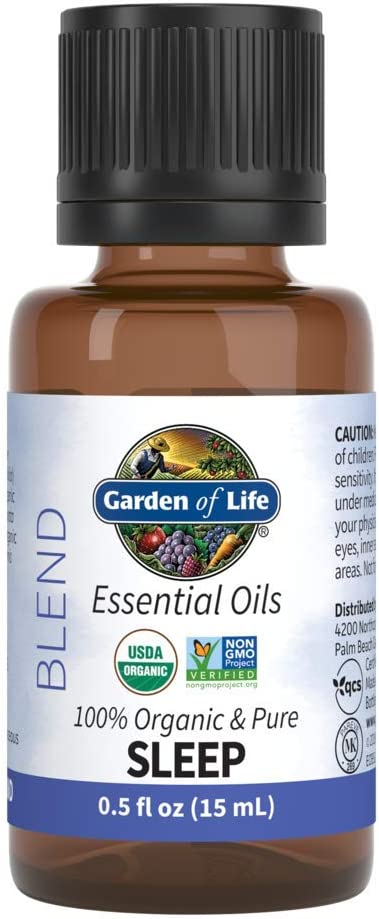 Garden Of Life Organic Essential Oil, Sleep Blend, 0.5 fl. oz.