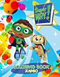 super why books - Super Why Jumbo Coloring Book: Great Coloring Book for Kids and Any Fan of Super Why (Perfect for Children Ages 4-12)