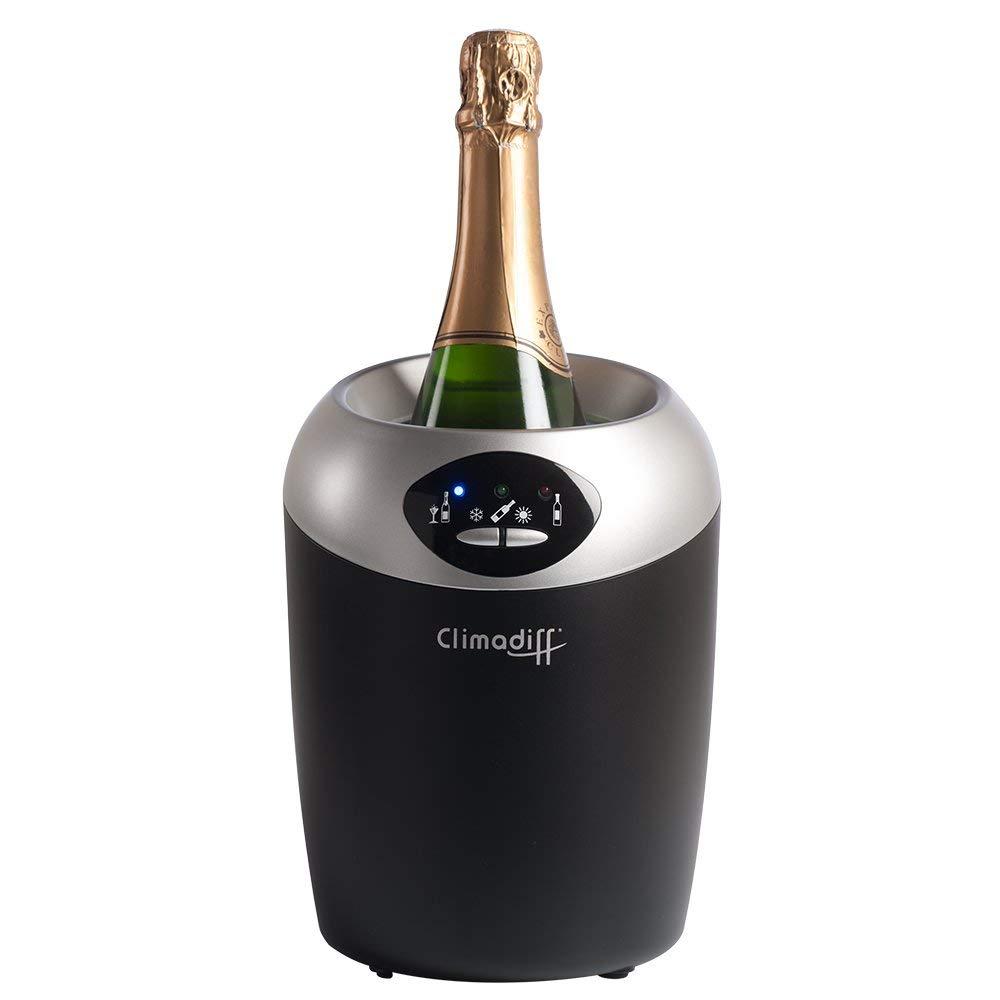 Climadiff ECHANSON Flaschenkü hler - Kü hlt Wein- oder Champagnerflaschen - Elektrik fü r konstante Temperaturregelung