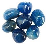 PAYAL BLUE ONYX PEBBLES (11 lbs ,Random)
