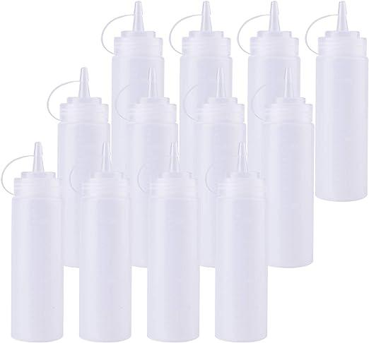 Amazon.com: Bekith - 12 unidades de botellas de plástico ...