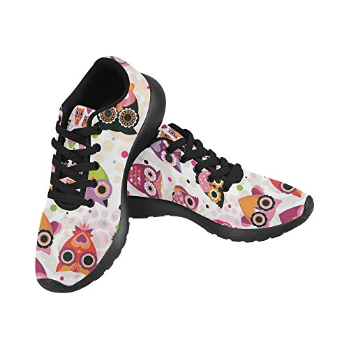 Interestprint Mujeres Jogging Running Sneaker Ligero Go Easy Walking Comodidad Deportes Running Zapatos Multi 19