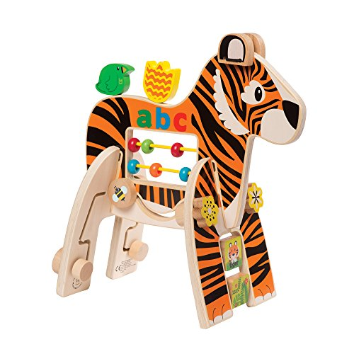 Manhattan Toy Safari Wooden Toddler Activity Toy for Ages 1 Year and Up - Manhattan Shopping Center