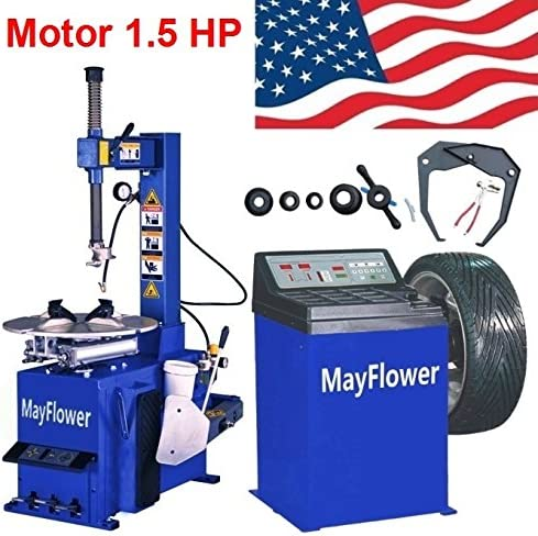 Mayflower - 1.5 HP Tire Changer Wheel Changers Machine Balancer