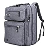 "17.3"" Laptop Backpack Messenger Bag - Evecase Professional Backpack Carrying Messenger Shoulder Case"