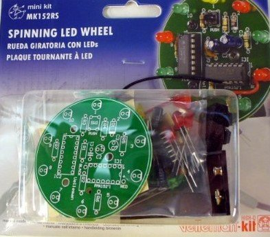 Spinning LED Wheel KIT- MK152RS