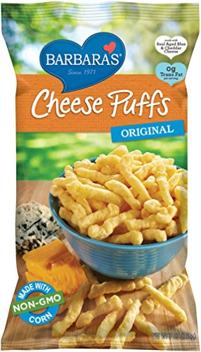 Barbara's Bakery Cheese Puffs, Original, 7 Ounce (Pack of 12)