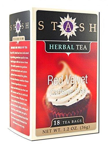 Stash Herbal Tea, Red Velvet, Caffeine Free, Bags, Pack of 2
