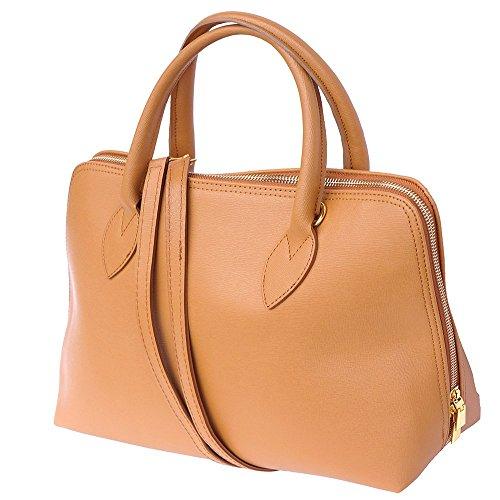 Femme En 308 Cognac Leather Saffiano Pour Florence Sac Business Market Cuir Cartable 7qnZ0Yw