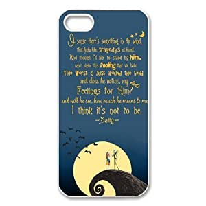 Disney the Nightmare Before Christmas Series Iphone 5 5s Hard Plastic Case Cover Protector Gift Idea