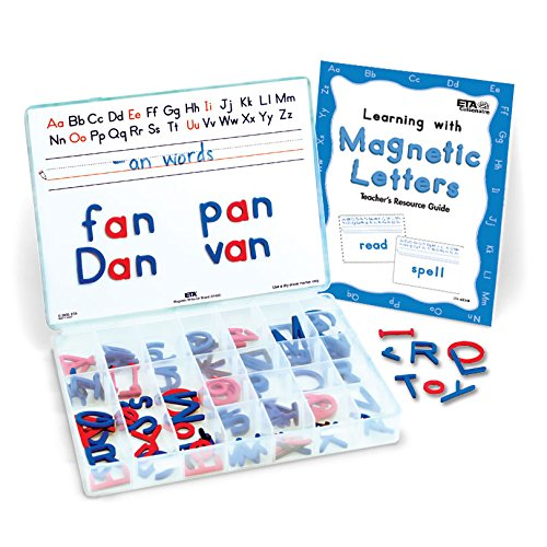 ETA hand2mind Magnetic Foam Uppercase and Lowercase Letters of The Alphabet (Set of 120)