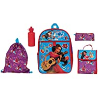 5-Pack Disney's Elena of Avalor Kids Backpack Set