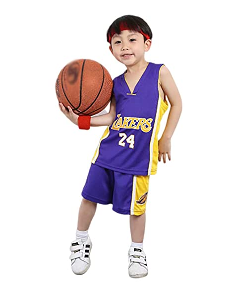 CPAI Conjunto de Jersey Kobe Bryant # 24 Los Angeles Lakers ...